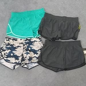 Lot of athletic running shorts 12/14